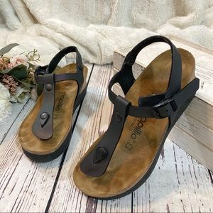 Birkenstock Papillio wedge Ashley sandals